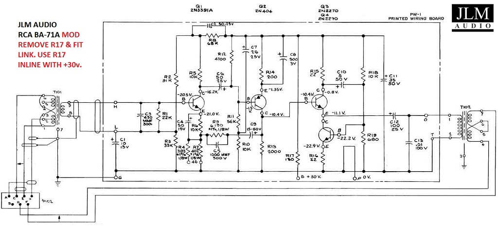 jlm modified ba-71a schematic highlighted