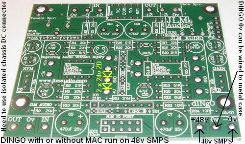 48v SMPS and Dingo connection - JLM AUDIO