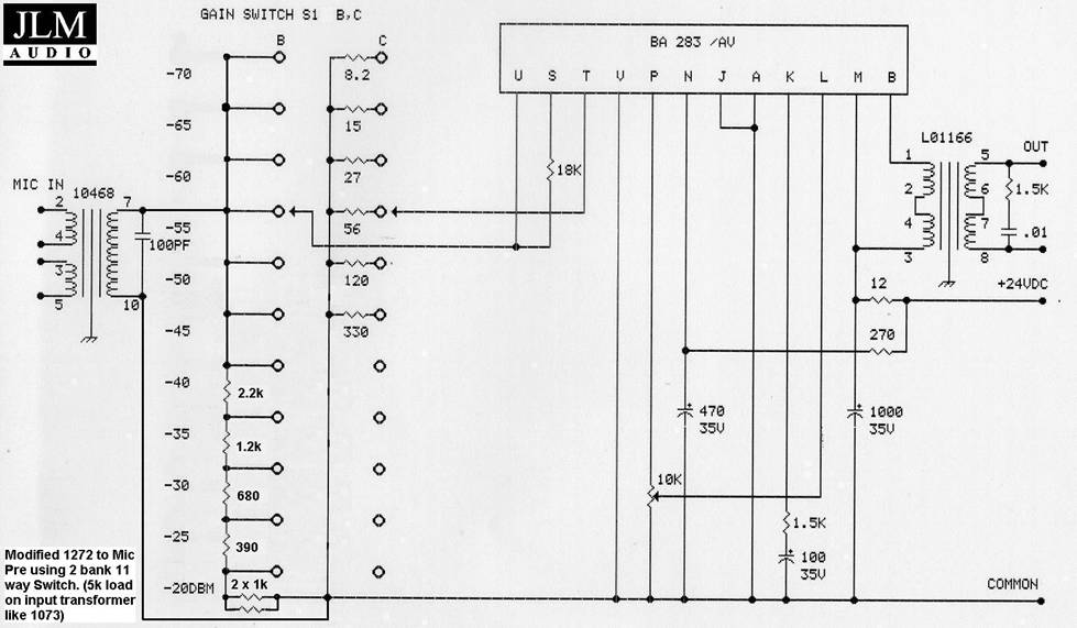 This is a modified version of the circuit on Rob Rowlette's ... Neve Schematic on