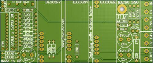 1290 Macro Mic Pre Main PCB