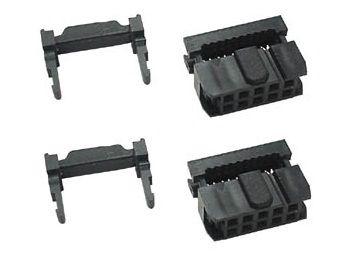 2 x 10 Pin IDC Plugs