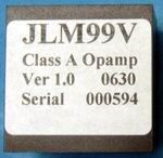 JLM99v Opamp +/-24v to +/-34v