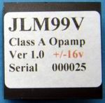 JLM99v Opamp +/-16v to +/-24v