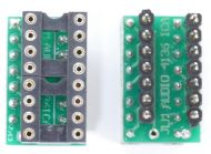 4136 to 2xDual DIP8 Adaptor