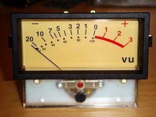 JLM Large VU Meter