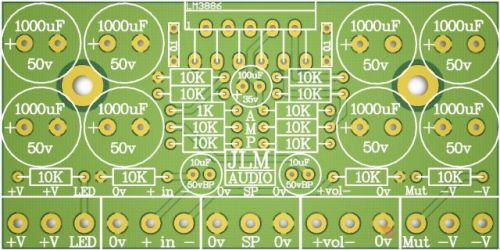 AMP PCB