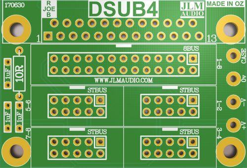 DSUB4 PCB