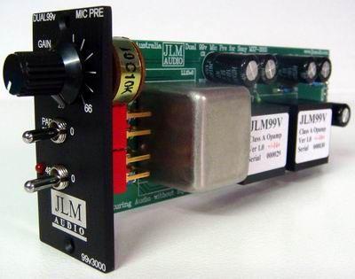 Dual99v3000 Mic Pre Module