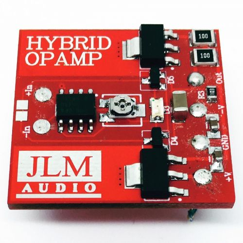 Hybrid SMD Opamp Built