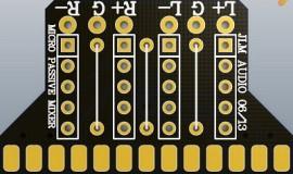 Micro Passive Mixer PCB