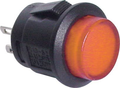 Push Button Switch ORANGE