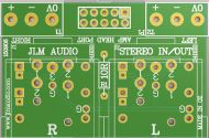 Stereo In Out PCB