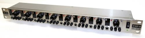 TMP8 8 Channel Mic Pre Rack