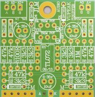 VU Buffer and Peak LED PCB